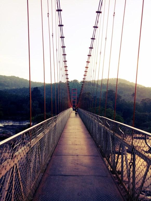 Tumburmuzhi Hanging Bridge