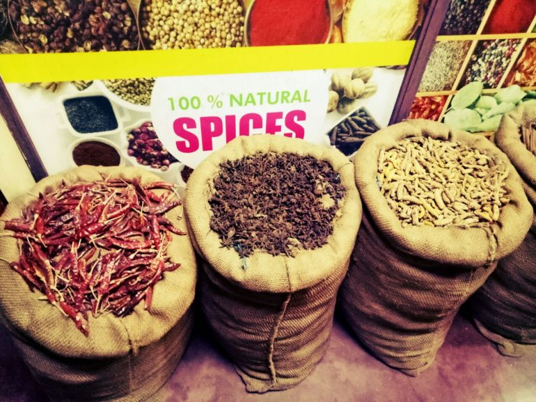 spices- 6 unique things of Kerala