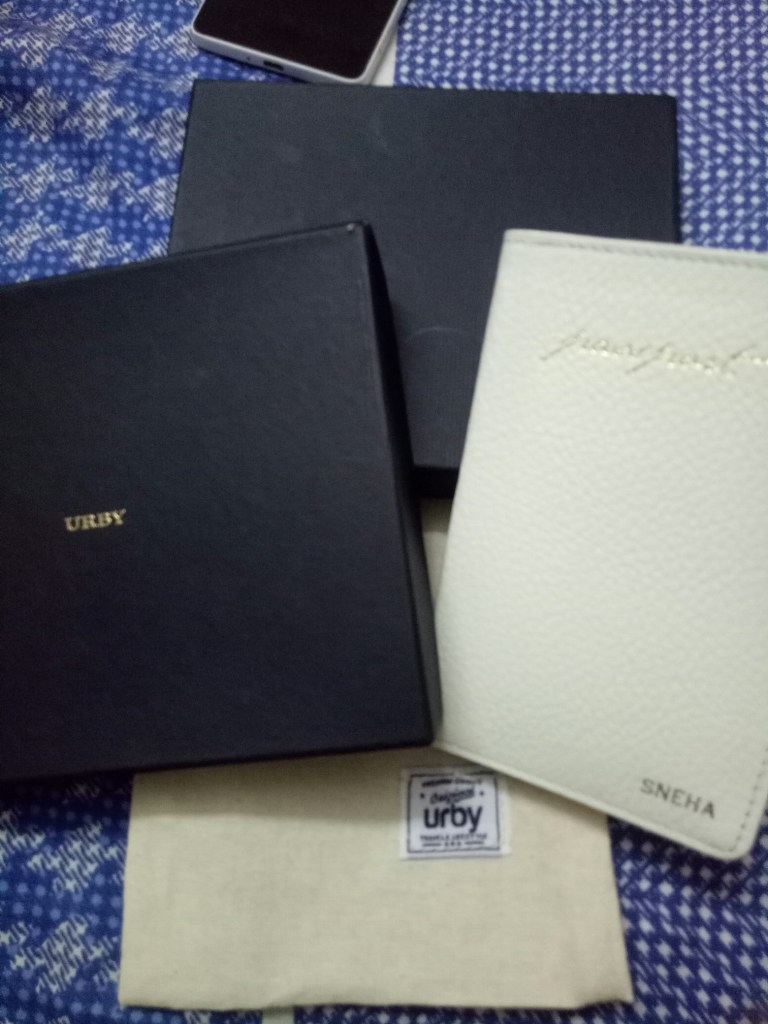 Urby passport holder