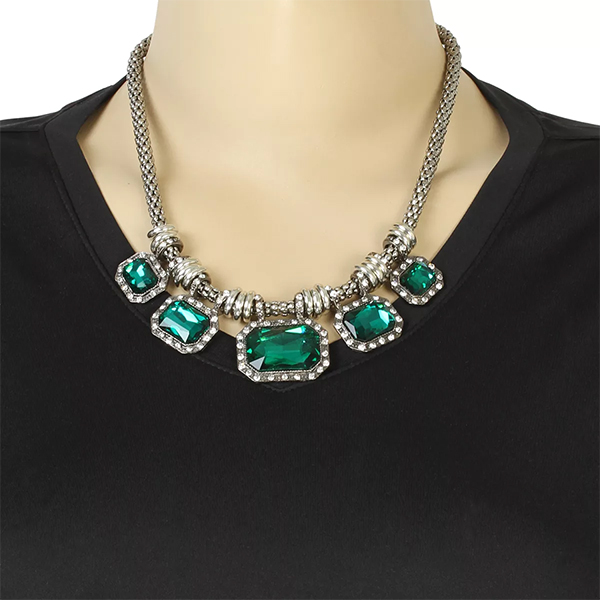 Gemstone bridal jewellery