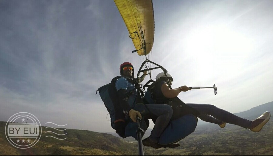 Paragliding at Nirvana Adventures at Kamshet near Mumbai