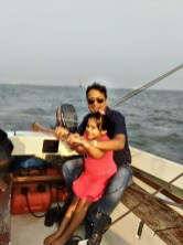 sailing at getaway of india