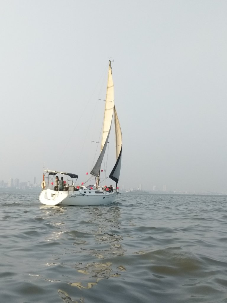 Yatch Ride in Mumbai with Kids