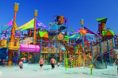 WaterPark Vacation with Kids #Travelwithkids #BlogchatterA2Z