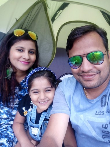 tent wali selfie