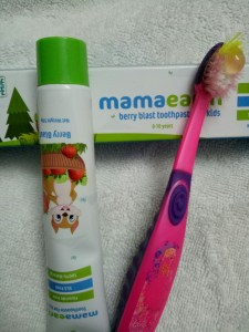 Mamaearth Natural Berry Blast Kids Toothpaste