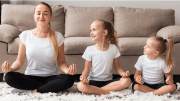Yoga Session With Kids | AtoZ Blogging Challenge with #BlogchatterA2Z