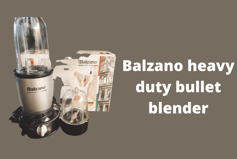 Balzano heavy duty bullet blender