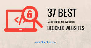 free proxy sites to bypass blocked websites