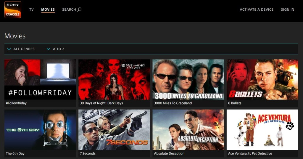SonyCrackle - Free Movies Online