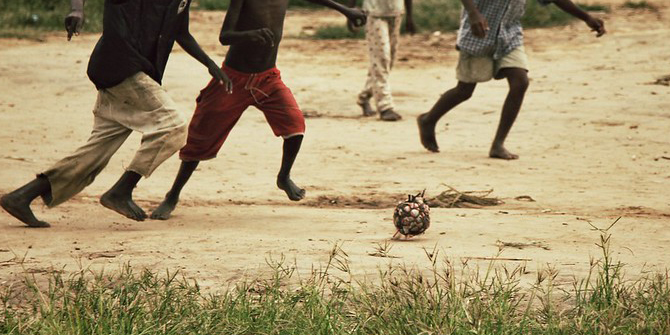 Football as reconciliation in the aftermath of war