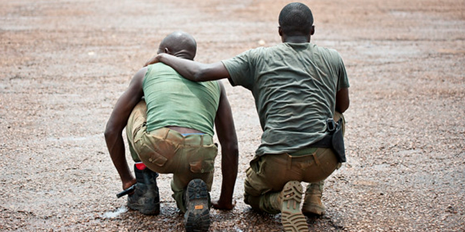 military officers in Central African Republic