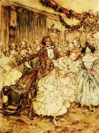 Scrooge hat vergessen, wie er als junger Mensch Weihnachten gefeiert und geliebt hat.