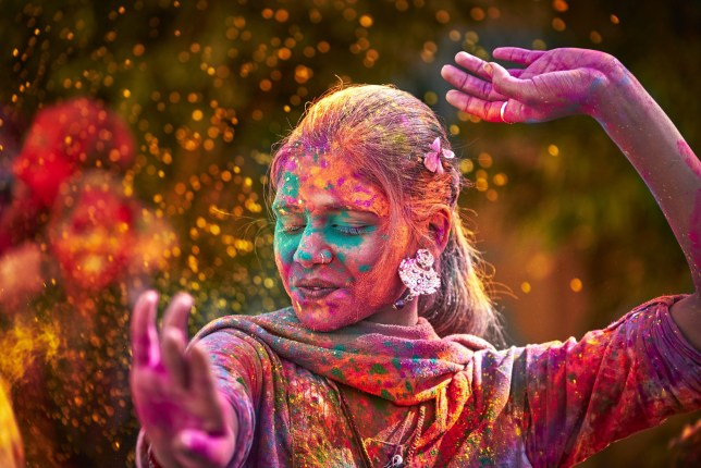 Cheerful Festival in India