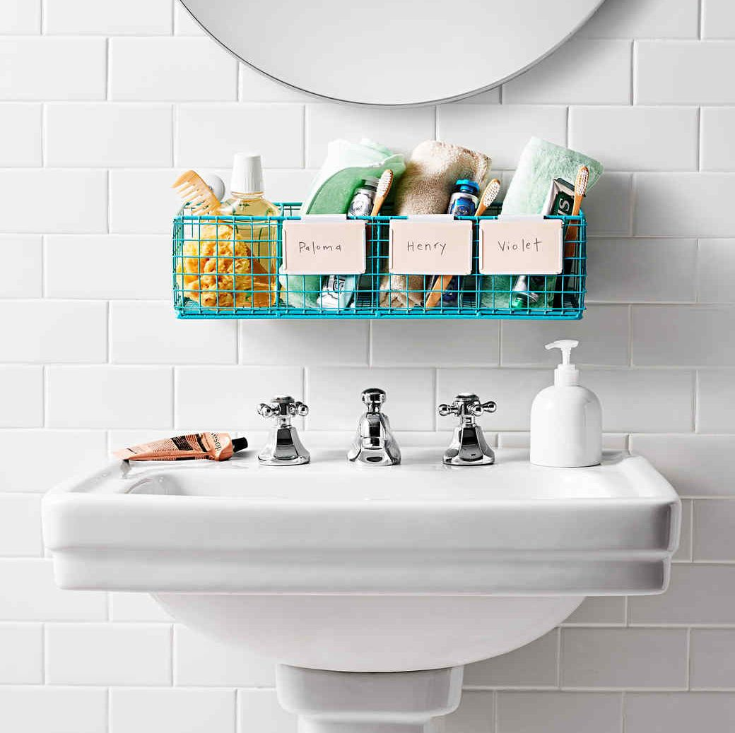 How To Organize A Bathroom Showergem Shower Caddy And Bathroom Organizer Eliminates All