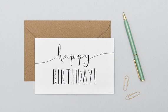 5 Best Practices For How To Sign A Birthday Card Simplynoted