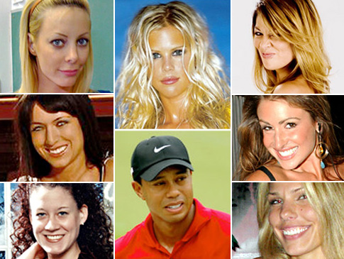 Tiger Woods as Web Fodder
