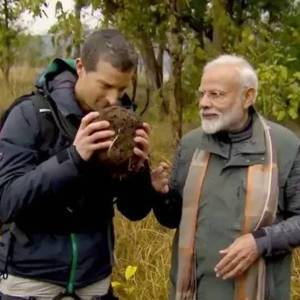 PM Modi to Feature on Bear Grylls' Man Vs Wild - Photogallery