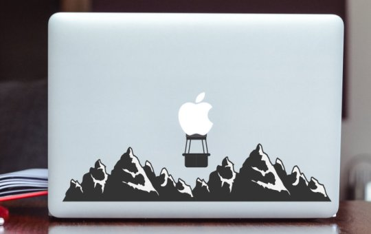 custom MacBook stickers