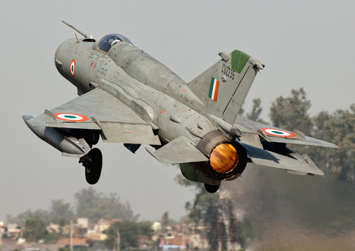 fighter jet crashes in Punjab