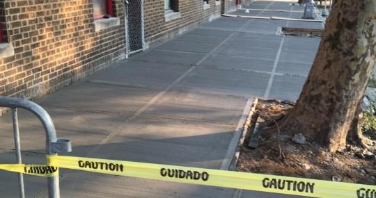 Sidewalk Repair Services NYC