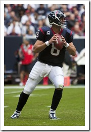 Is Schaub The Question Or The Answer For Houston Texans?