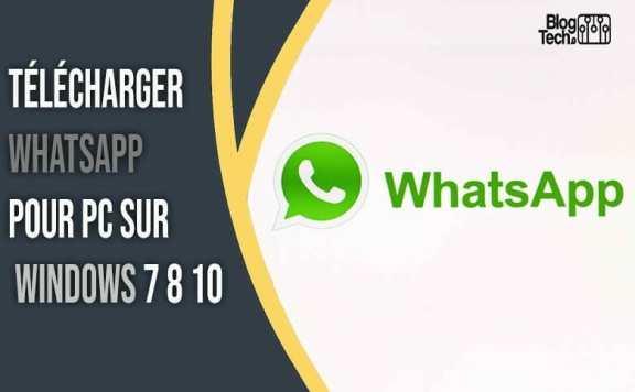 Whatsapp pour PC