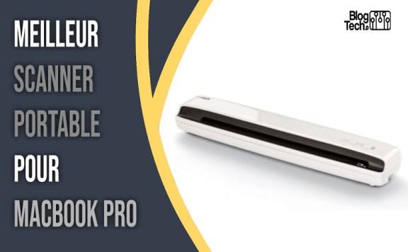 scanner portable pour Mac