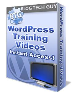 BTG WordPress Training Videos