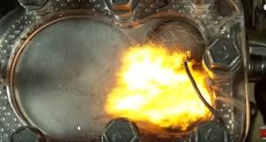 Voir les explosions a l interieur d un moteur à combustion