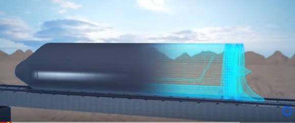 308 km/h pour les essais de Hyperloop One dans le Nevada