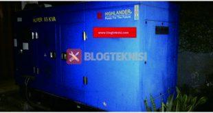 mengenal instilah generator set (genset)