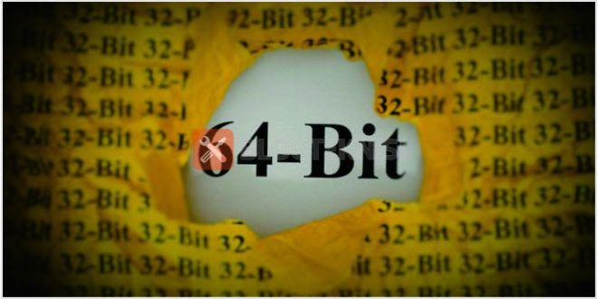 Distinction Between 64-Bit and32-Bit