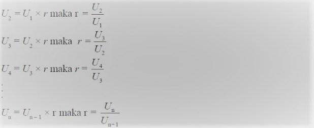 Geometri Rumus Barisan