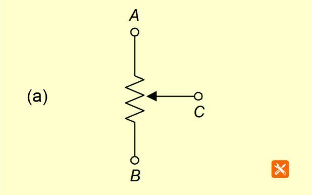 simbol potensiometer