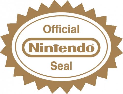Sello Nintendo calidad