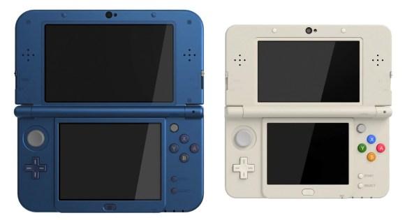 New Nintendo 3DS XL y la versión estándar.