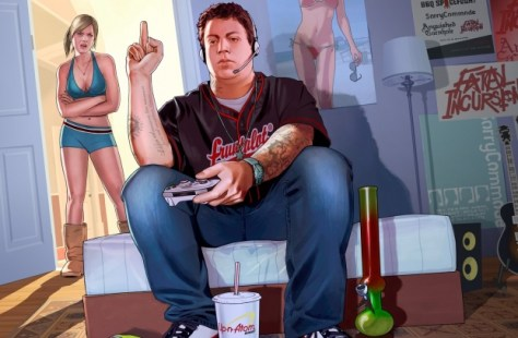 Artwork ¿satírico? de GTA