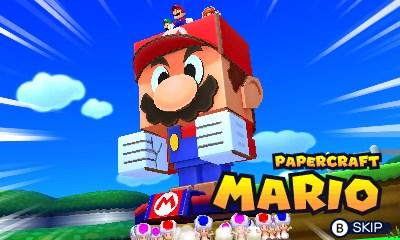 papercraft mario