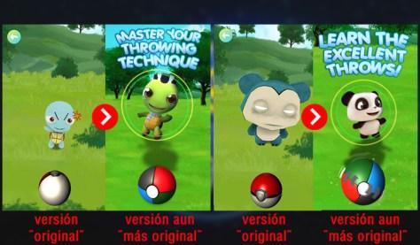 Pokeball, Pokemon Go, Clone, Chino, Creepy, Squirtle, Snorlax