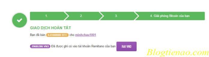 Rút VNĐ về Vietcombank