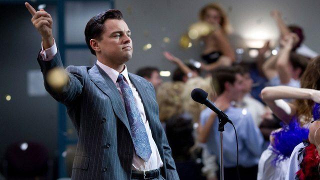"""Diễn viên nổi tiếng Leonardo DiCaprio là người thủ vai nhân vật chính trong bộ phim """"Sói già phố Wall""""."""