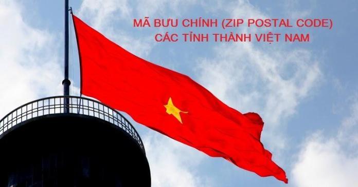 Tổng hợp mã bưu chính Zipcode/Postal code 63 Tỉnh/Thành Việt Nam
