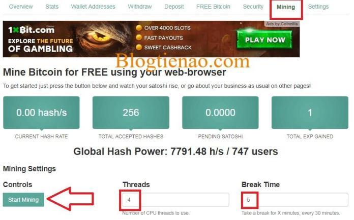 dao-bitcoin-mien-phi-faucethub
