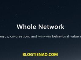 Whole Network (NODE) dự án Huobi Prime