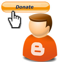 Create PayPal donation button and add PayPal donation button in Blogger