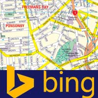How to insert / embed Bing maps in a website (wordpress and Blogger)