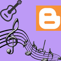 How to add background music to Blogger, inserting background audio sound