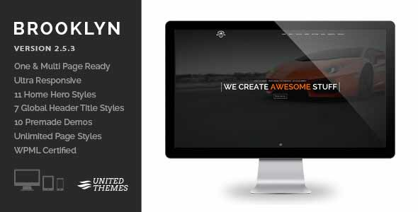 Brooklyn top selling responsive theme
