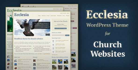 Church and missionary wordpres theme